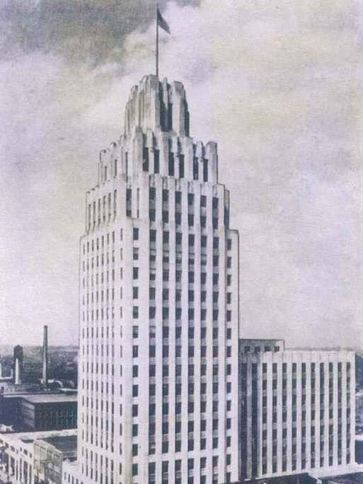 Allegacy's first location was in the mezzanine of the RJR building, now the Kimpton Cardinal hotel.