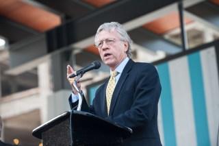 Allen Joines, Mayor, Winston-Salem, NC