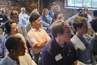 Venture Café participants at a programming session