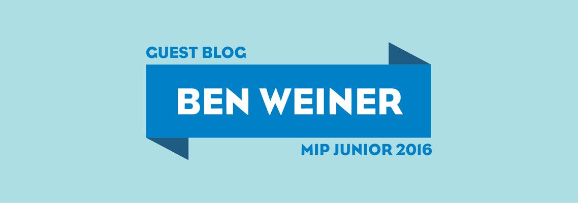 Ben Weiner on MIP Junior