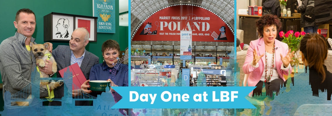 The London Book Fair 2017 Day 1 – The Highlights