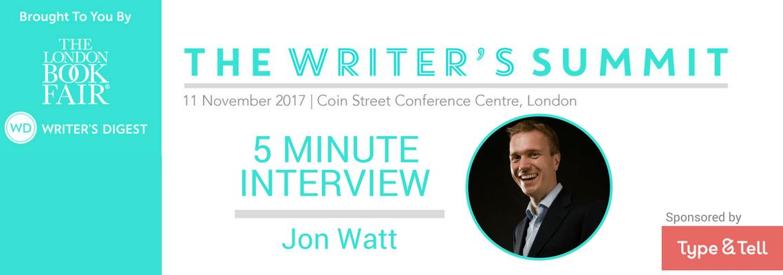 5 Minute Interview Jon Watt