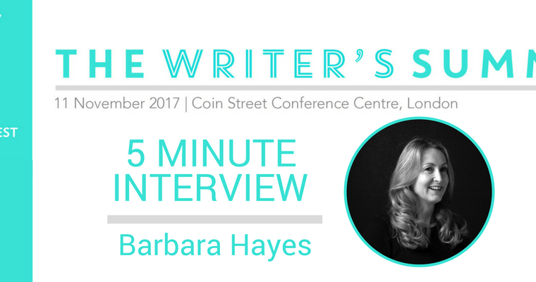 5 Minute Interview Barbara Hayes