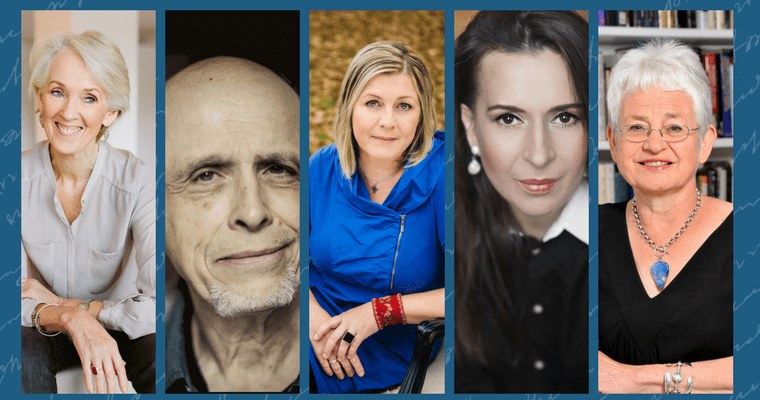 Joanna Trollope and Jacqueline Wilson join Author of the Day line-up for The London Book Fair 2018