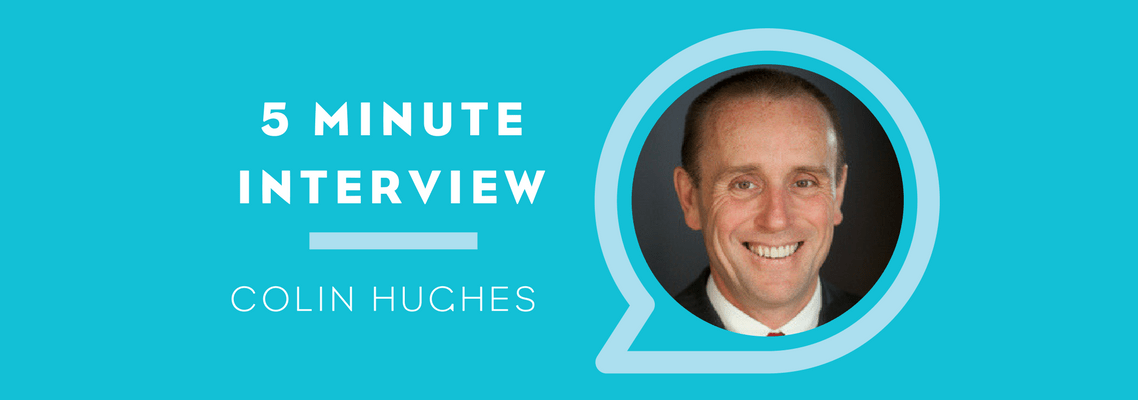 Five Minute Interview with Colin Hughes