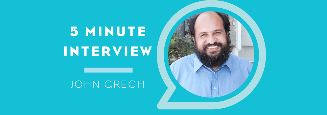 Five Minutes with John Grech