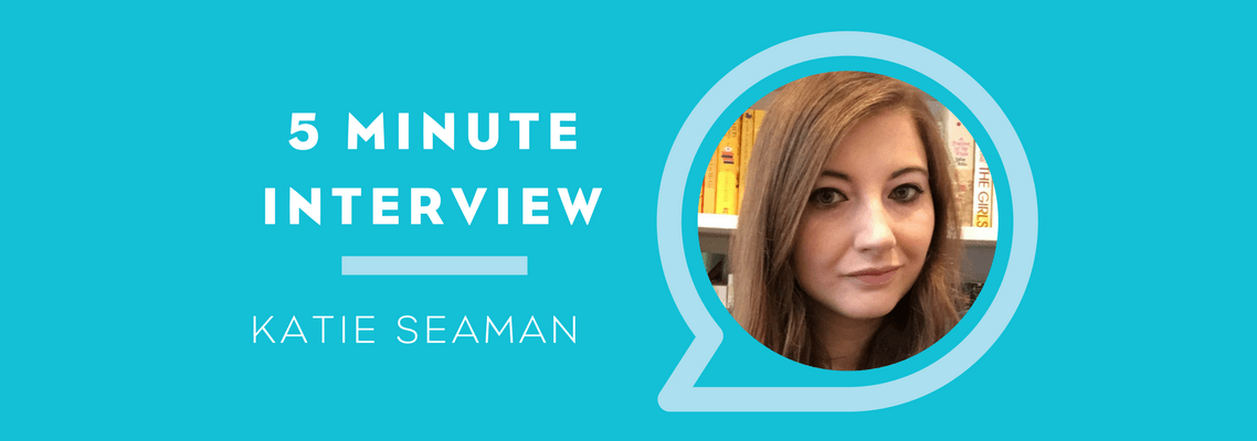 5 Minutes with Katie Seaman