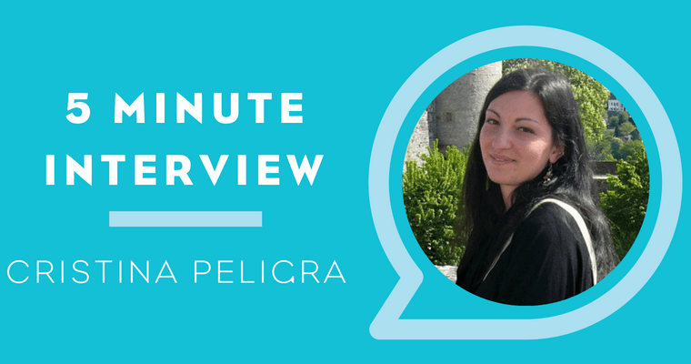 5 Minute Interview with Cristina Peligra