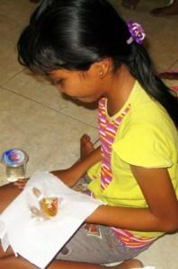 Taco Day at MAF Missionary Sponsored English Club