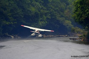 Flight training a S turn takeoff in Naan Indonesia