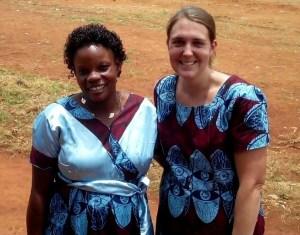 Zavinga and Suzanne, MAF Missionary