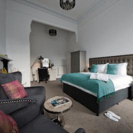 Apple Apartments Edinburgh Bedroom