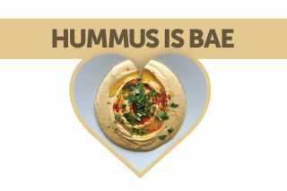 hummus front