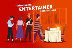 ENTERTAINER Table Reservations