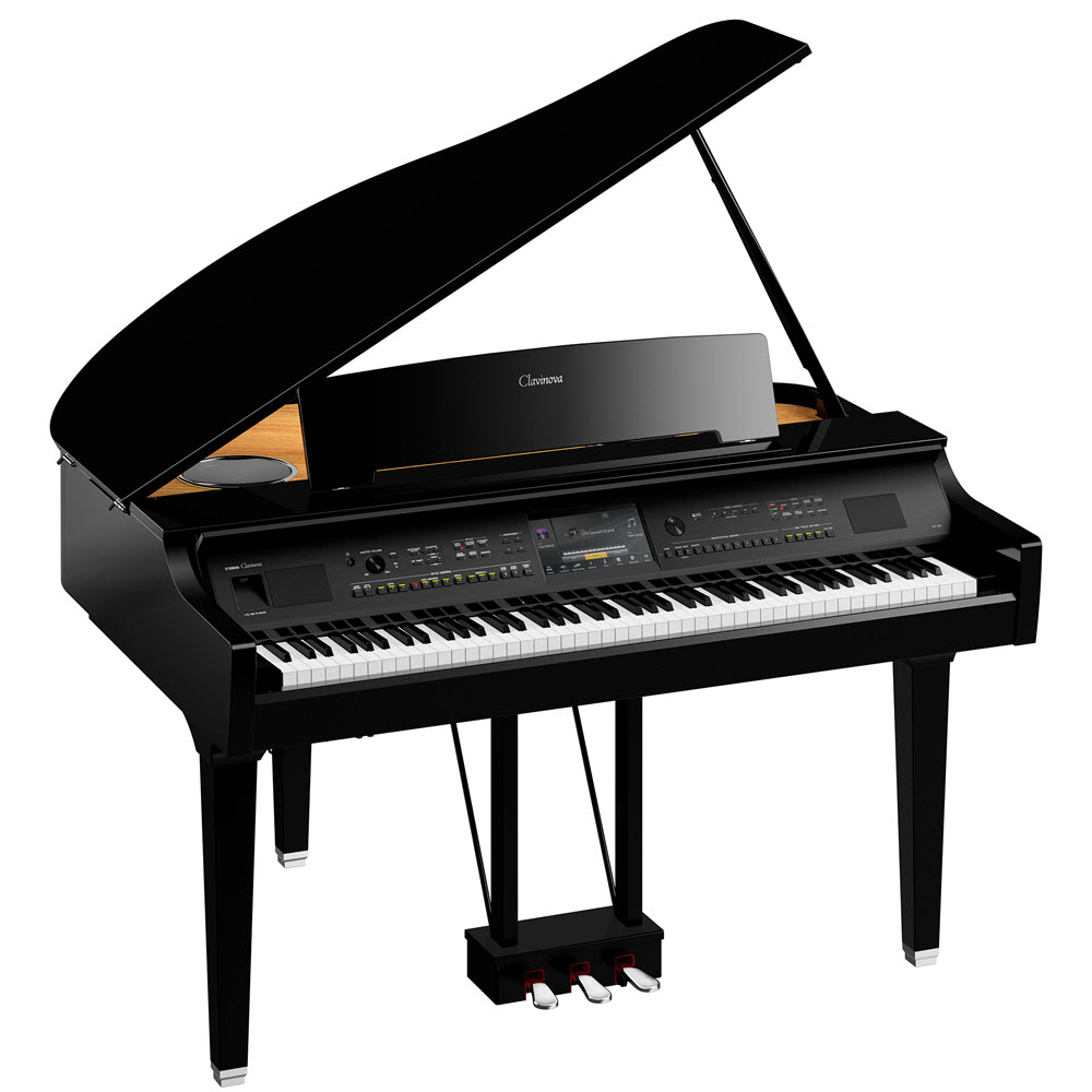 Digital grand piano.