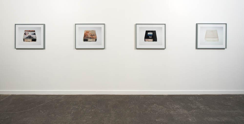 Installation view, Tape 2009.Sound Speed Marker, Ballroom Marfa, 2014. Photo: Frederik Nilsen