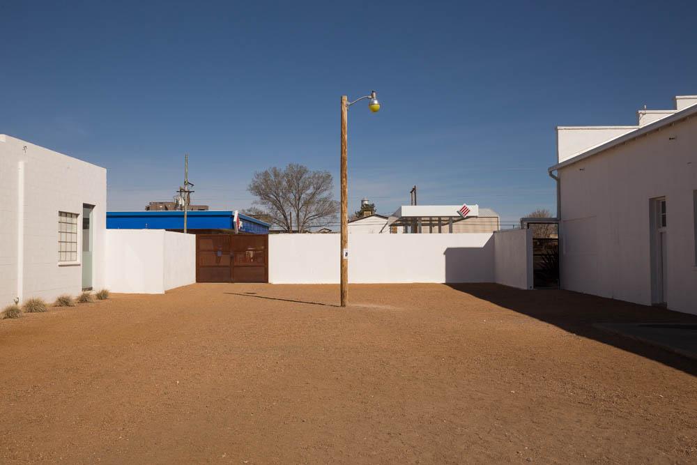 Missing Truffaut 2014, Installation view. Sound Speed Marker, Ballroom Marfa, 2014. Photo: Frederik Nilsen