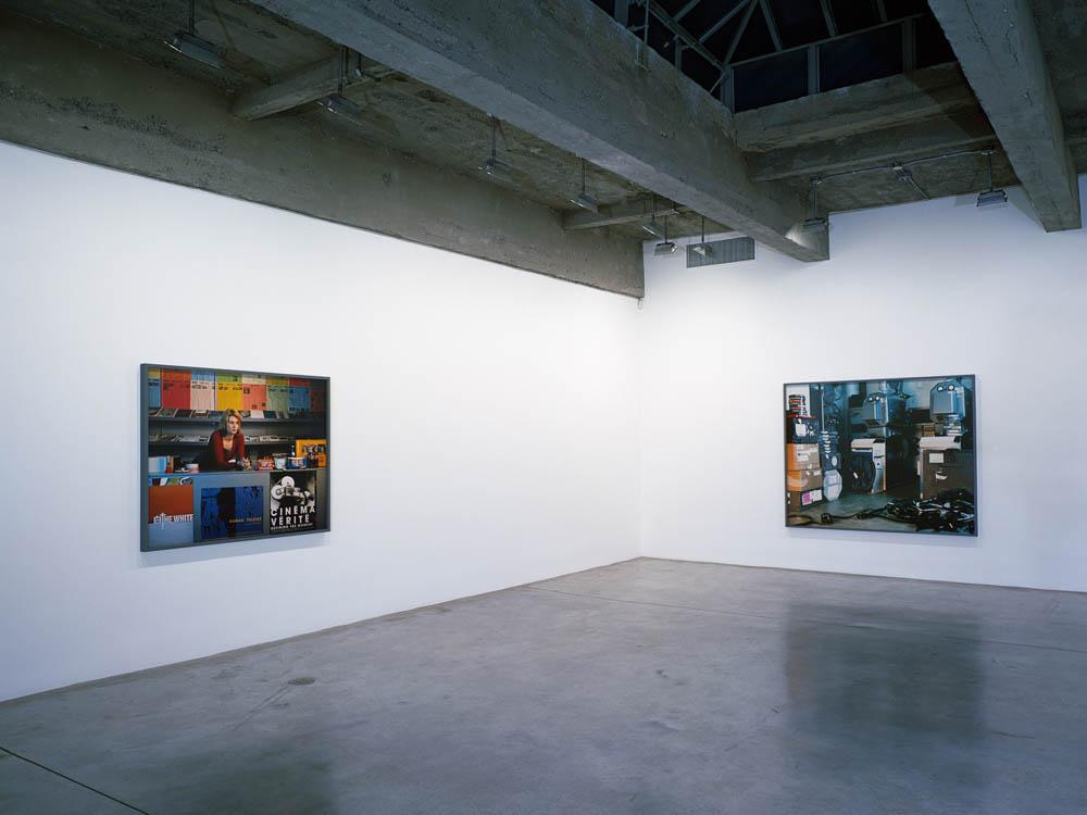 Installation view, Tanya Bonakdar Gallery, New York.