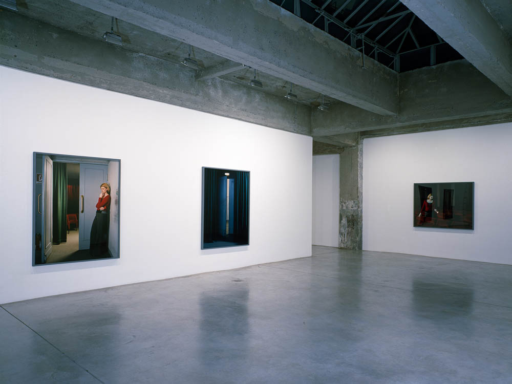 Installation view, Tanya Bonakdar Gallery, New York.