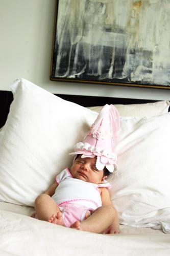 her 'birthday' hat ? ;)