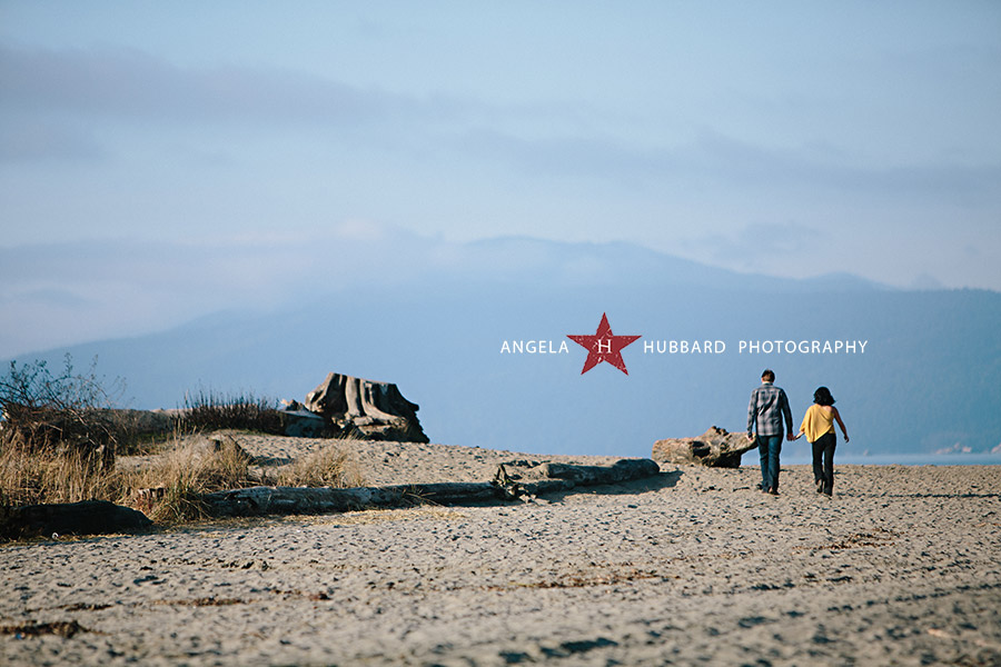 Spanish Banks engagement session angela hubbard photography vancouver wedding photographer