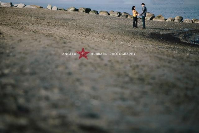 Spanish Banks engagement session angela hubbard photography vancouver wedding photographer