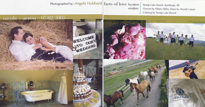 Angela Hubbard photography published in aisle walk