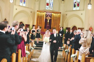 St. Augustine's Church Vancouver wedding photographer angela hubbard photography