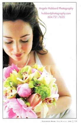 Angela Hubbard photography Vancouver Bride