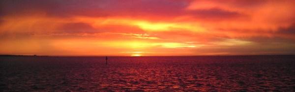 Sunset Family Cruise Deep Sea Fishing Charters Gulf