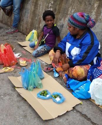 A betel nut vendor