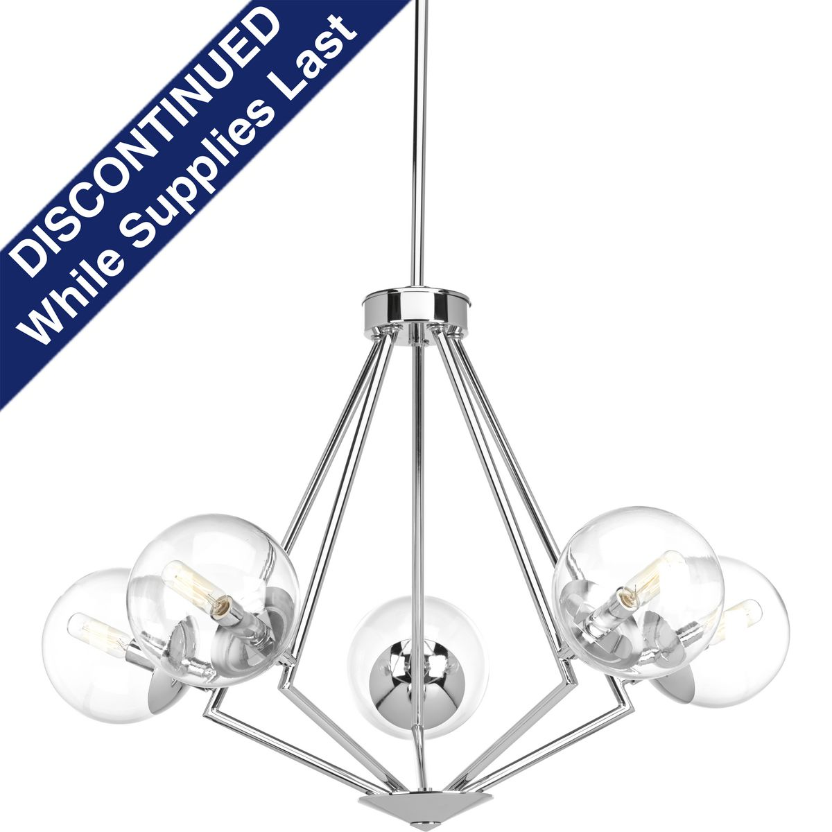 Mod Collection Five Light Chandelier