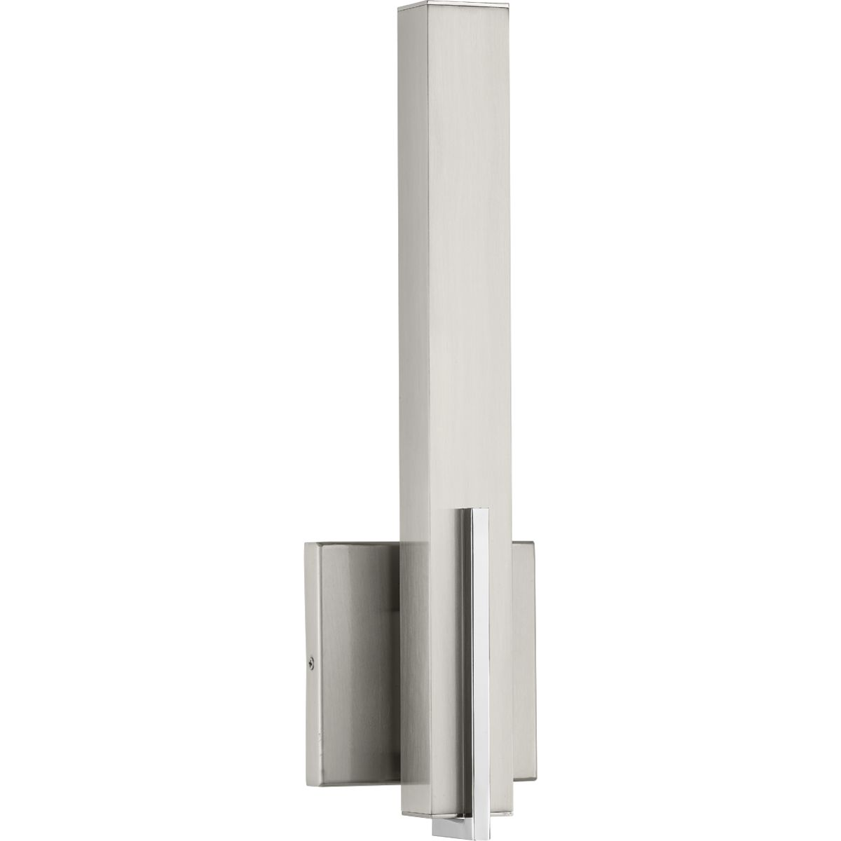 Planck LED Collection One-Light LED Wall Sconce, Brushed ... on Led Sconce Lighting id=34259