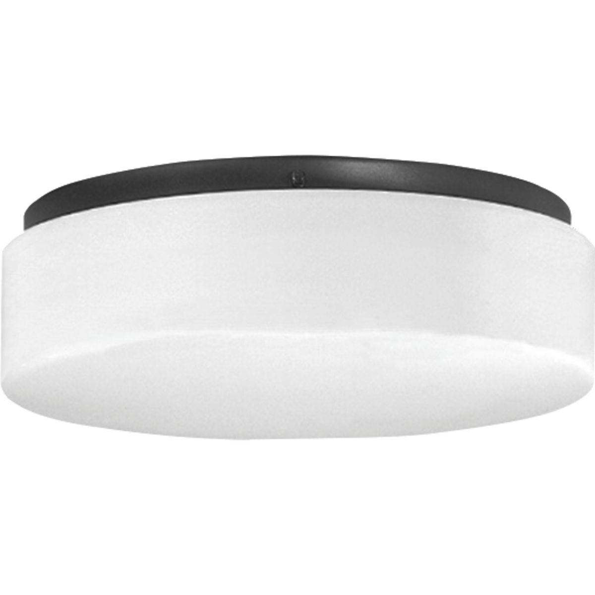 one light 11 led drum flush mount