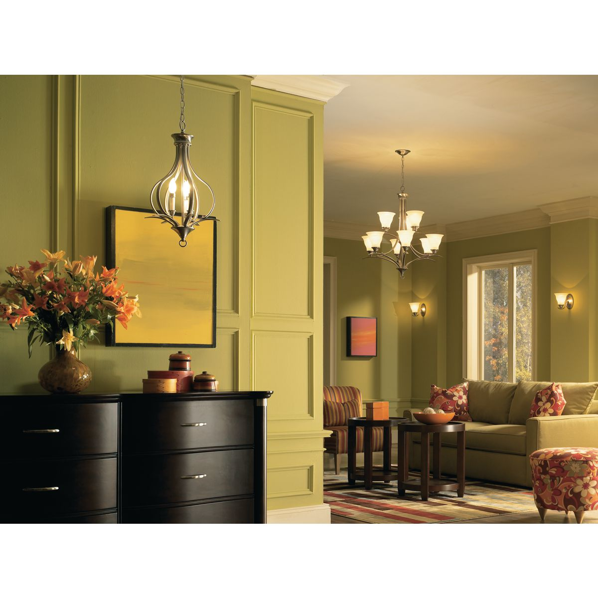 trinity collection two light foyer