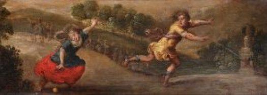Johann Wilhelm Baur - Atalanta and Hippomenes