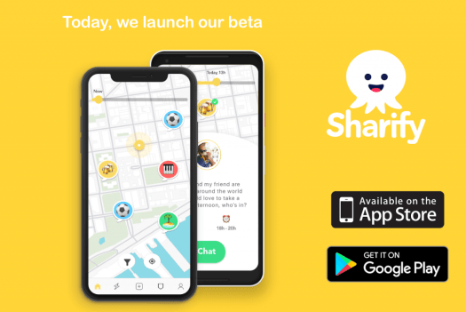 sharify app launch