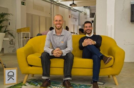 Daysk co-founders Benoit Gilloz & Julien Palier startup barcelona