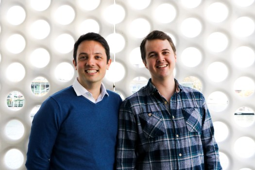 Dan Shepherd and George Chilton - content marketing workshop