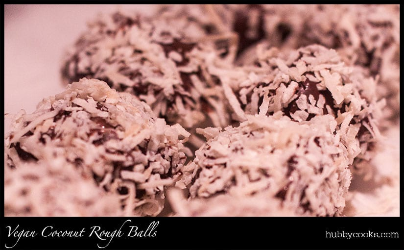 Coconut Rough Balls (Gluten-Free)