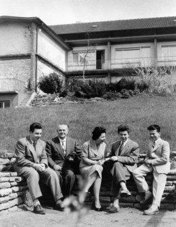 Familie Burda in Offenburg