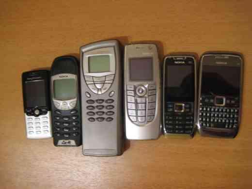 Sammelsurium meiner Handys