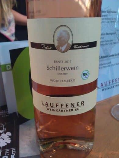 Bild von der Flasche Bioland Schillerwein aus Lauffen