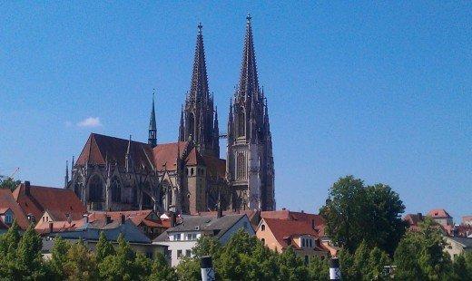 Bild vom Regensburger Dom