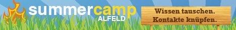 Banner des Summercamp Alfeld 2012
