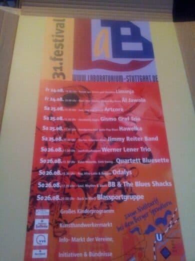 Bild vom Programm Plakat für das Lab-Festival