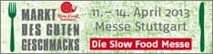 Banner der Slow Food Messe