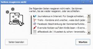 Chrome_ueberlastet