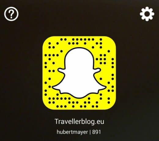 Hubert Mayer / Travellerblog bei Snapchat