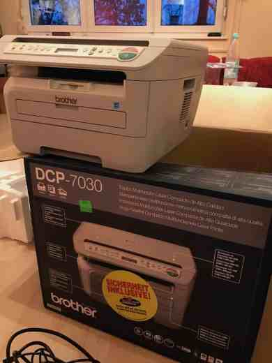 Laserdrucker Brother DCP 7030